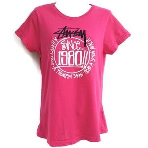 Stussy Graphic Tee T Shirt Increase the Peace L